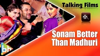 """Sonam Kapoor In PRDP Has Done A Much Better Job Than Madhuri Dixit In HAHK"": Salman Khan"