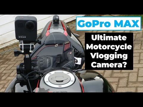 GoPro Max - Ultimate Motorcycle Vlogging Camera?