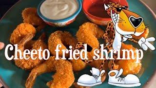 How to make Delicious Cheetos Fried Shrimp