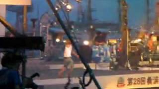 横浜開港祭ゲストのキマグレンのライブ。 何曲か歌ったけどやっぱり『L...