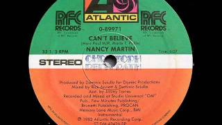 Nancy Martin - Can