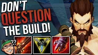 TAKING ALL OF THE ENEMY'S BUFFS | DO NOT QUESTION THE BUILD! - Trick2G