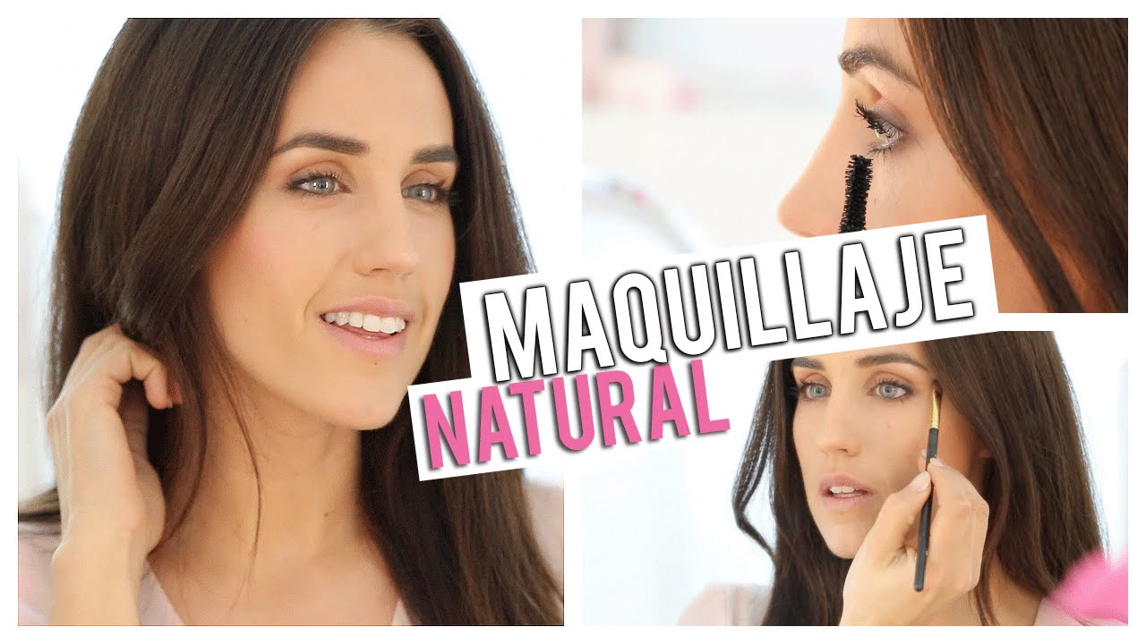 maquillaje natural y muy fcil para cada da