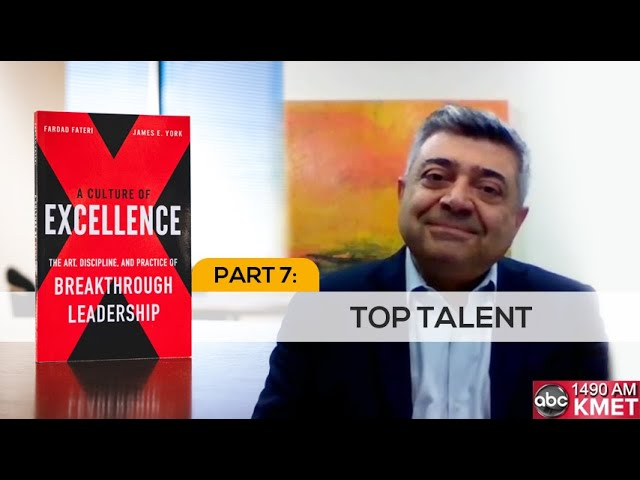 Interview with Dr. Fateri - Part 7: Top Talent