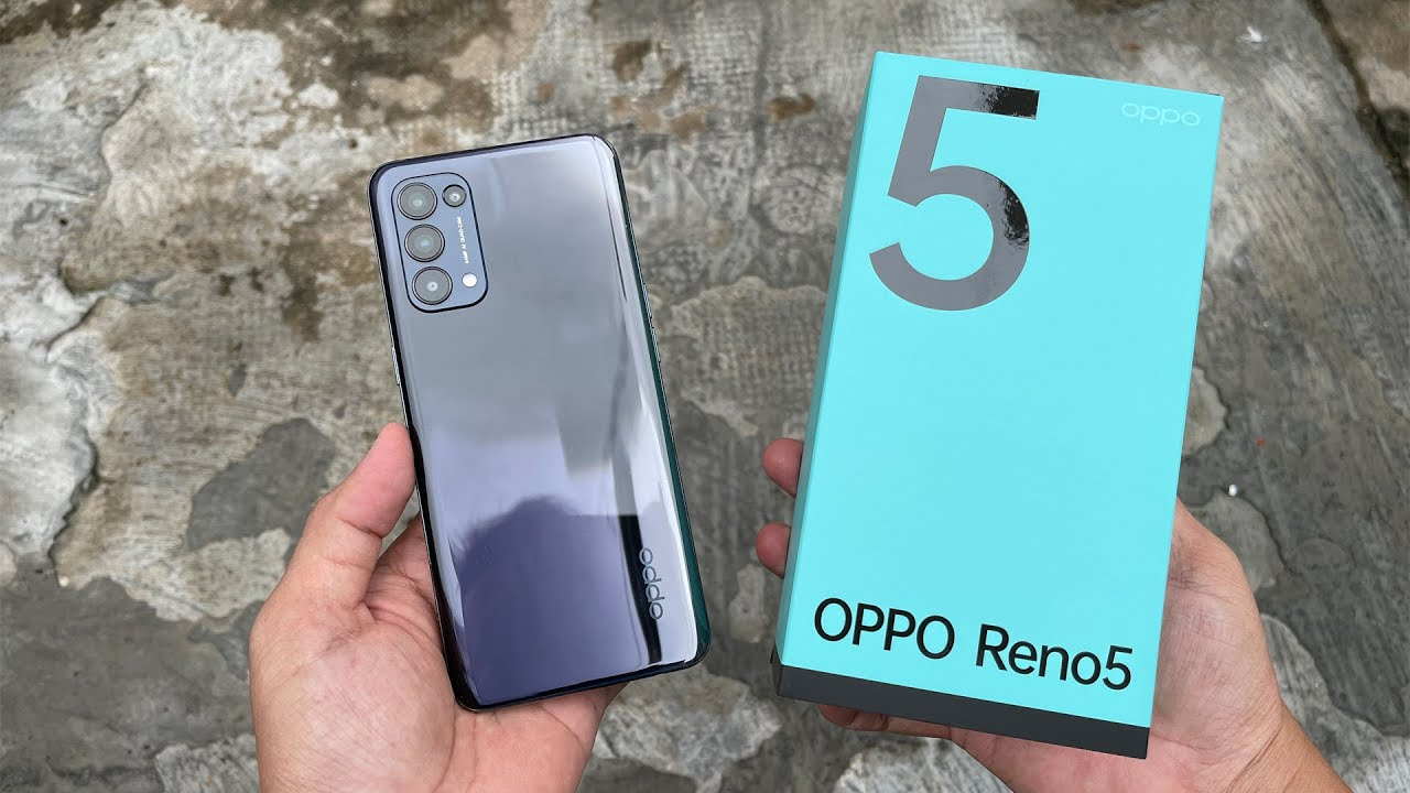 Oppo Reno5 unboxing, camera, antutu, gaming test - YouTube