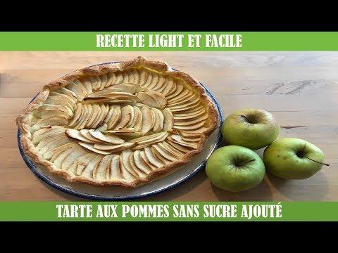 recette-light-et-facile---tarte-aux-pommes-sans-sucre-ajouté