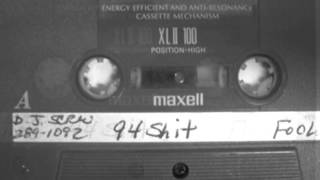 Dj Screw ft. Lil KeKe - Peepin in my window (instrumental)