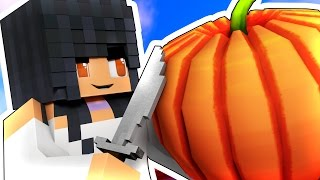 HALLOWEEN PUMPKINS WITH YOUTUBERS! [MINECRAFT CHALLENGE]