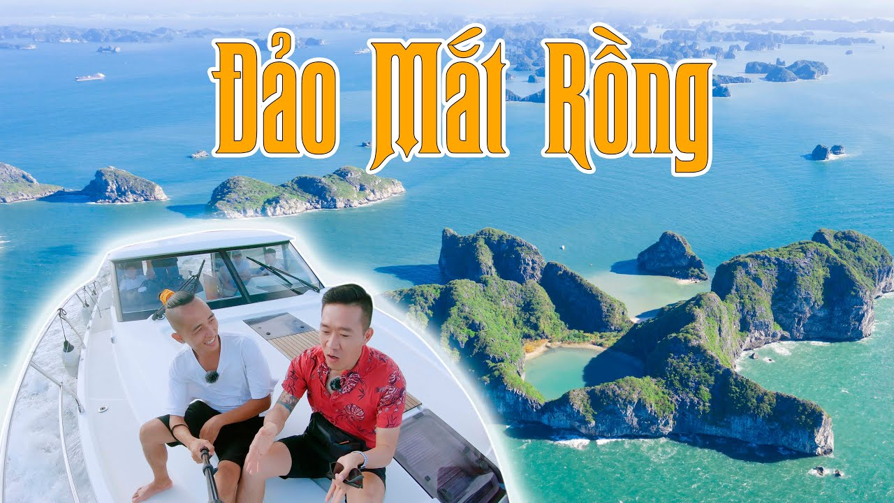 Cưỡi du thuyền hàng chục tỷ khám phá đảo Mắt Rồng - Hòn đảo xa nhất vịnh Hạ Long