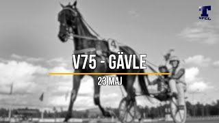 V75 tips Gävle - Tre S 23 maj 2020