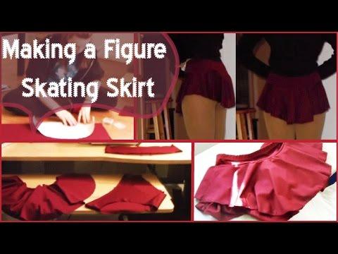 Making A Figure Skating Skirt Youtube