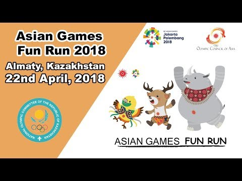 2,000 participants joined Asian Games Fun Run in Almaty