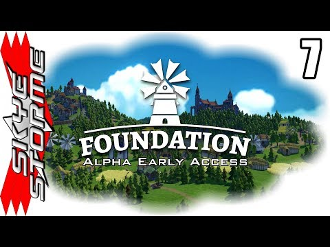 Foundation Alpha Early Access Ep 7 - THE KINGDOM OF P'NIS! 150+ Pop [Gameplay / Let's Play]