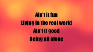 Ain't it fun (Paramore) lyrics