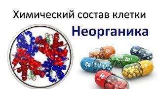 1. Химия клетки - неорганика (9 или 10-11 класс) - биология, подготовка к ЕГЭ и ОГЭ 2018