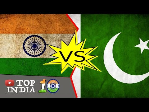 Top 10 Things when India and Pakistan Compared || Top10INDIA