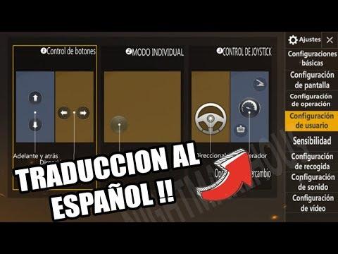 TRADUCCION PUBG MOBILE LIGHTSPEED AL ESPAÑOL !!
