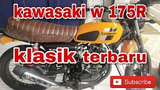 KAWASAKI W175 KLASIK || WARNA KUNING MAKIN MANTAP