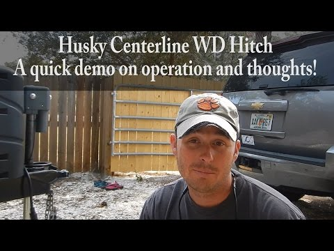 Husky Center Line Weight Distribution Hitch: Owner's Thoughts - Fulltime RV Family VLOG