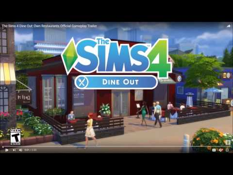 The Sims 4 : Dine Out Information |