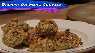 Protein Banana Oatmeal Cookies Recipe