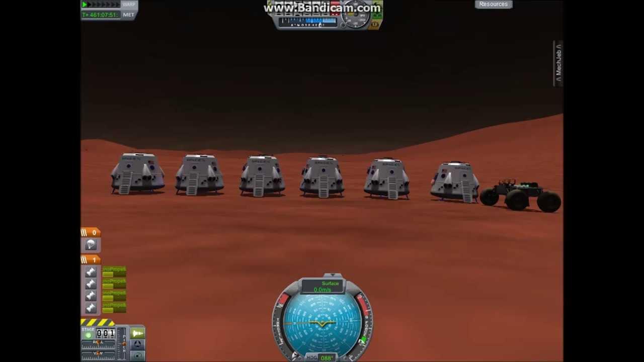 Kerbal Space Program - Mars One Settlement - YouTube