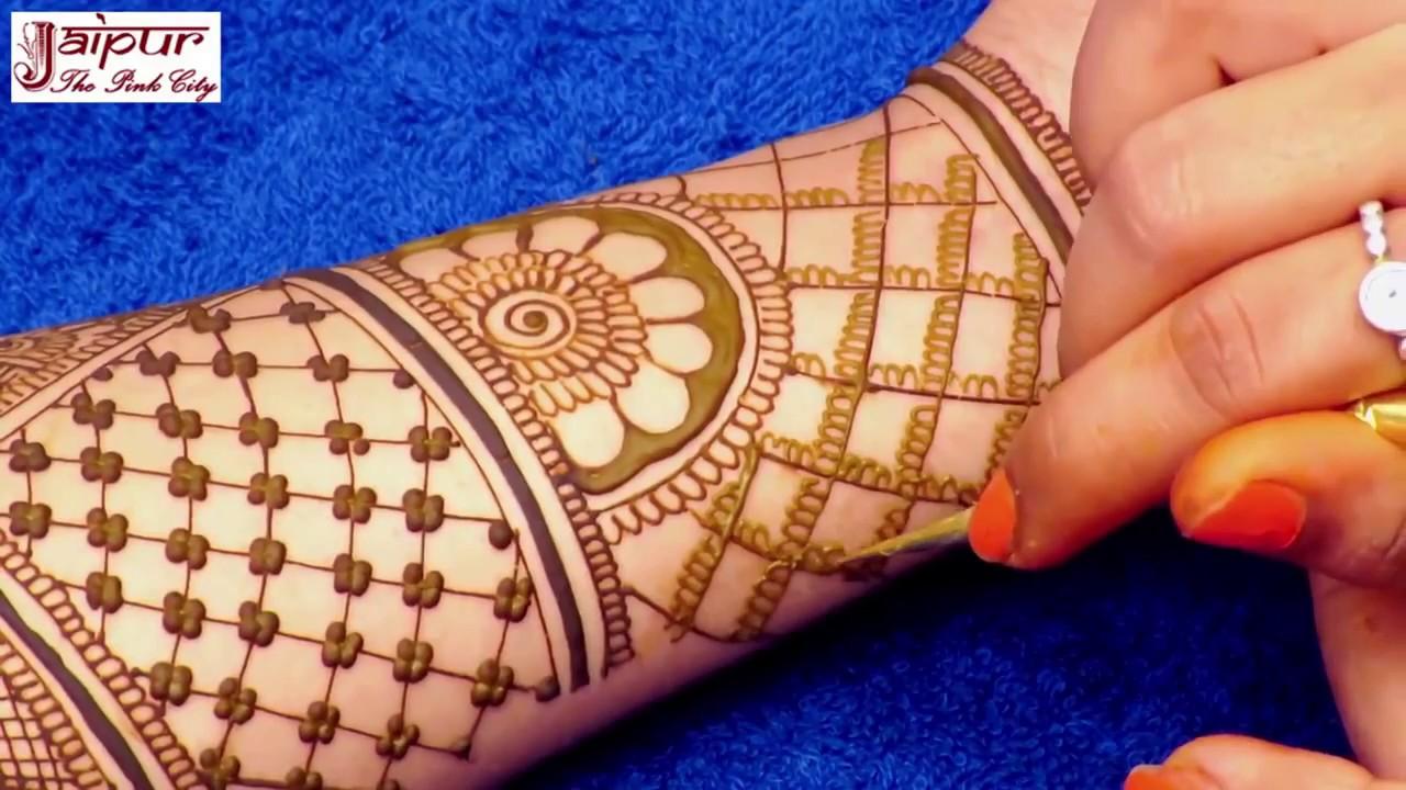 Full Hand Bridal Mehndi Design For Hands New Traditional Mehndi Design By Sonia Goyal 311