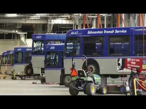 Edmonton buying electric buses