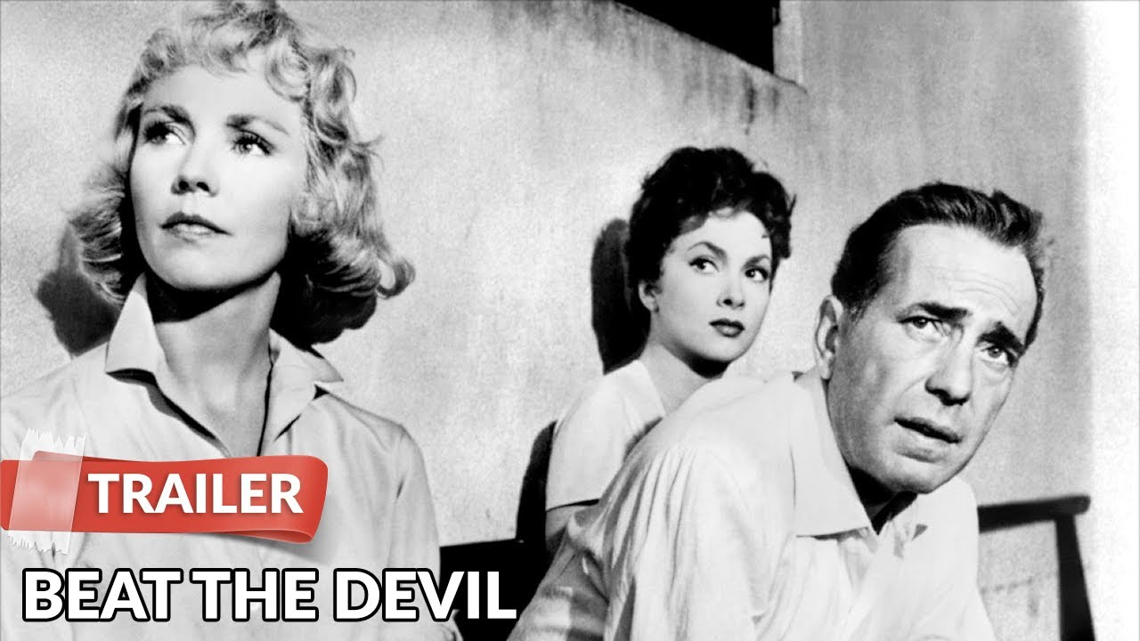 Beat the Devil 1953 Trailer HD | Humphrey Bogart | Jennifer Jones