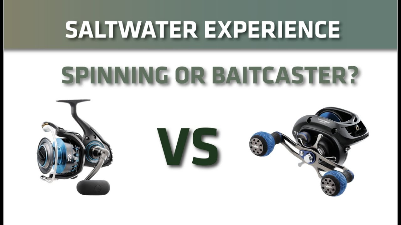 spinning reels vs baitcaster? which is better? — saltwater, Fishing Rod