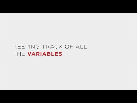Experimental Variables: Keeping Track of Them All (LE: Module 2, Part 1)