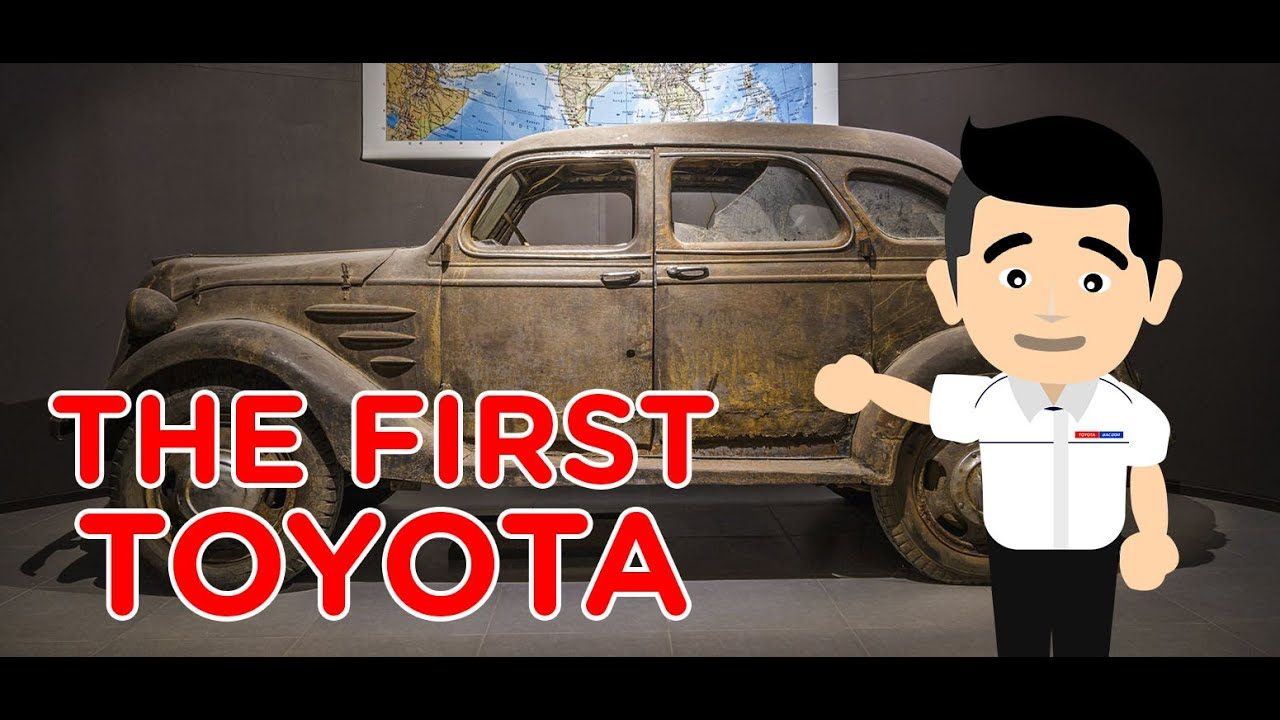 The First Toyota - Model AA - 1936