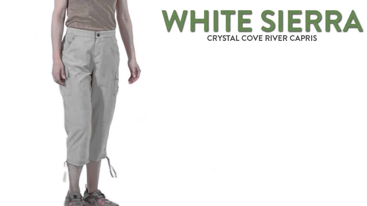 White Sierra Crystal Cove River Capri