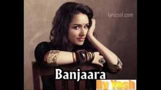 Banjara Ek Villain Karaoke Cover by YASH