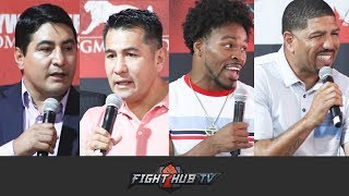 BOXING LEGENDS PREDICT MANNY PACQUIAO VS KEITH THURMAN - FULL ROUNDTABLE Q & A
