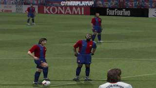 Gameplay - Pro Evolution Soccer 6 [PES6] PC W7430 + i3 370M + 3GB RAM