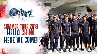 HELLO CHINA, HERE WE COME!