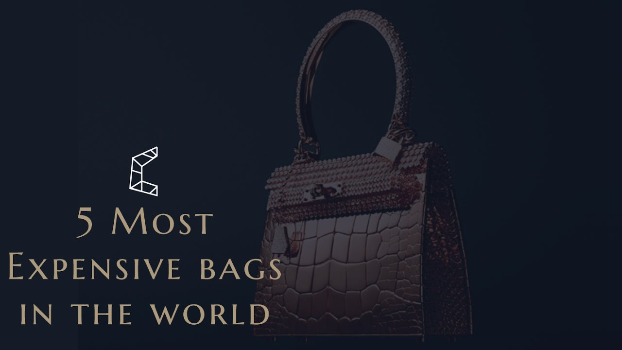 b3cc45943dc9 5 most Expensive Bags in the World - YouTube