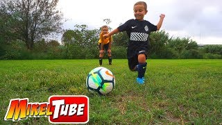 La vuelta al Fútbol ⚽ con Equipacion NIKE y Primer entreno de Leo