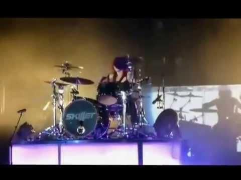 Amazing Skill by Jen Ledger- Best Drummer Girl [Fantastic Girl] Skillet *.*