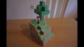 Repeat youtube video Minecraft Adventskalender aus Papier basteln (Paper hand made) [German/HD]