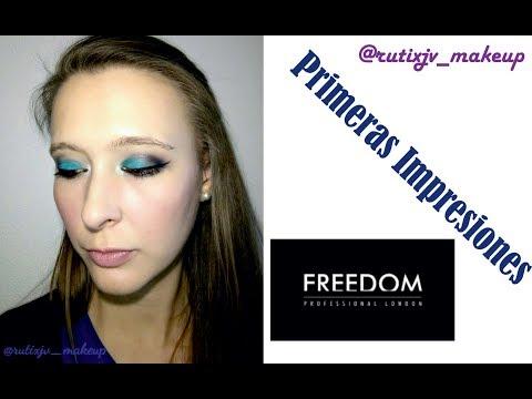 PRIMERAS IMPRESIONES : MAKEUP FREEDOM ;-)
