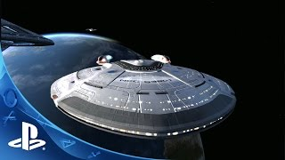 Star Trek Online - Official Announce Trailer   PS4