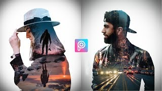 PicsArt Tutorial Double Exposure  PicsArt Editing Tutorial  PicsArt Photo Editing