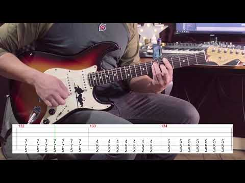 Naruto Shippuden Opening 16 TCD Guitar Playthrough + Tabs