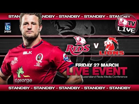 St.George Queensland Reds - Press Conference