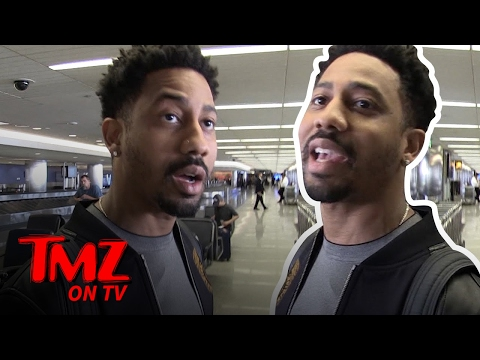 Brandon T. Jackson: There Shouldn't Be Weed In The Holy Land!  TMZ TV