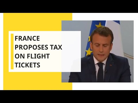 France to introduce eco-tax on airline tickets