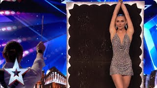 FIRST LOOK: Judges GASP at dangerous Gomonov Knife Show | BGT 2019