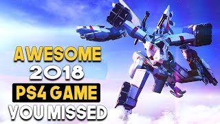 AWESOME 2018 PS4 Exclusive You MISSED - GREAT Action MECH Game